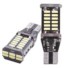 2x T15 W16W 15-SMD LED CANBUS Backup Reverse Light For kia rio k2 3 armrest ceed sportage sorento cerato soul picanto optima k3