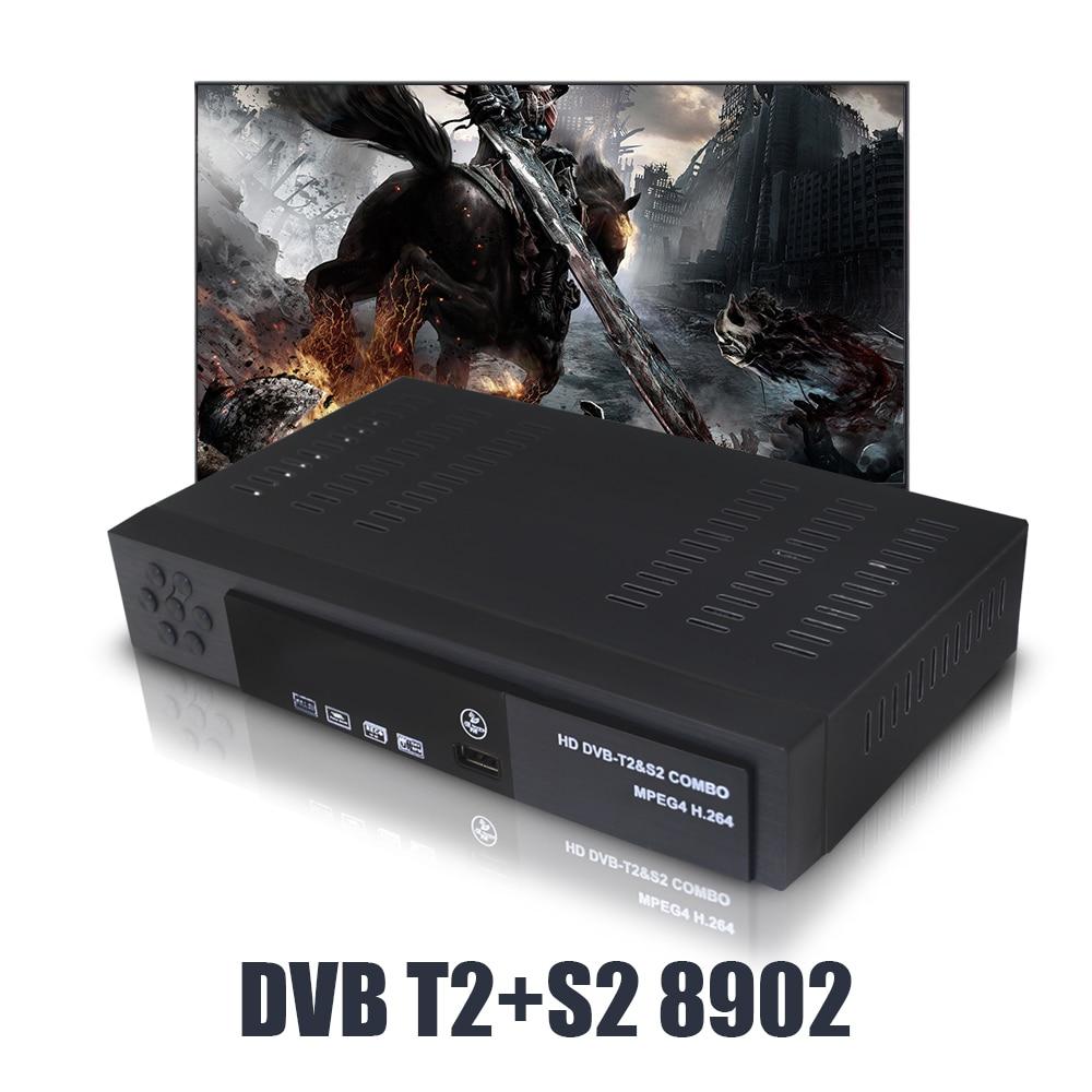 Image 4 - DVB T2 DVB S2 HD цифровой наземный спутниковый ТВ комбинированный приемник DVB S2 H.264 MPEG 4 ТВ тюнер Поддержка CCCAM биссключ телеприставка-in Приемник спутникового ТВ from Бытовая электроника