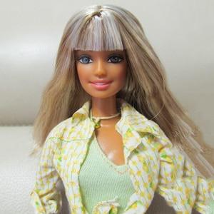 Image 1 - 30cm Begrenzte Stil Schöne Mädchen 1/6 Puppe Frauen Mit Kleidung Bewegliche Gelenke Körper Vintage