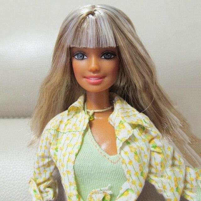 30cm Begrenzte Stil Schöne Mädchen 1/6 Puppe Frauen Mit Kleidung Bewegliche Gelenke Körper Vintage
