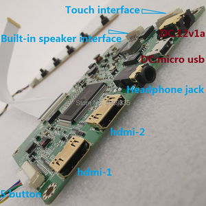 10,1 дюймов 2K дисплей модуль Группа Комплект IPS VVX10T025J00 HDMI DVI VGAUSB5VDC12V два источника питания схема разрешение 2560X1600 16:10