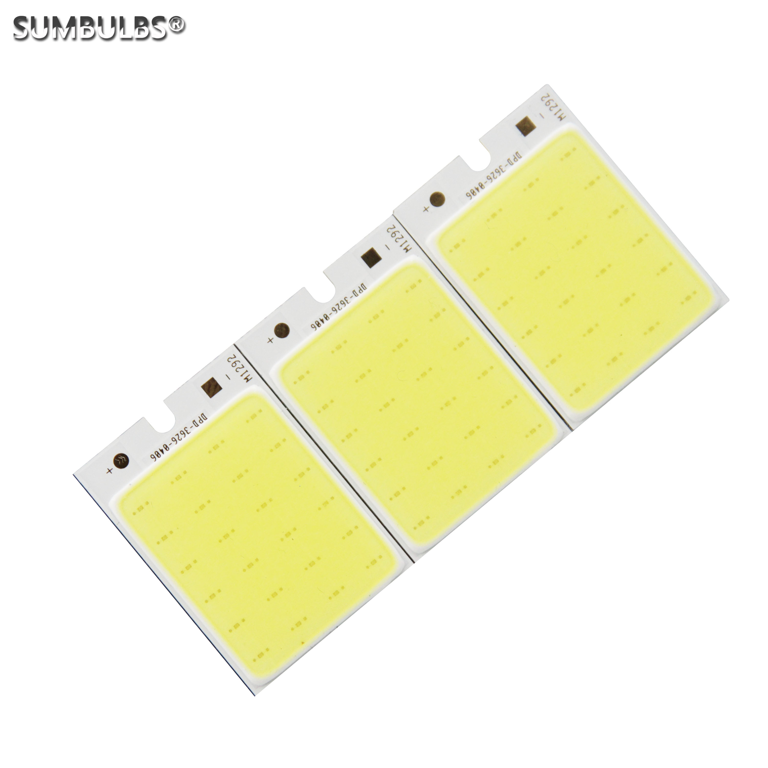 12V 3W LED Light Source 36*26mm Small Size Cob Strip Cold White COB Bulb For Indoor Light Home Work Decor Lamp Automotive Bulb