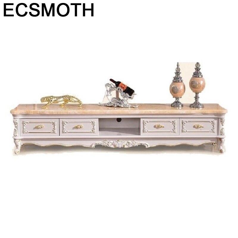 Center De Cabinet Sehpasi Soporte Mueble Para Flat Screen European Wood Meuble Table Living Room Furniture Monitor Tv Stand