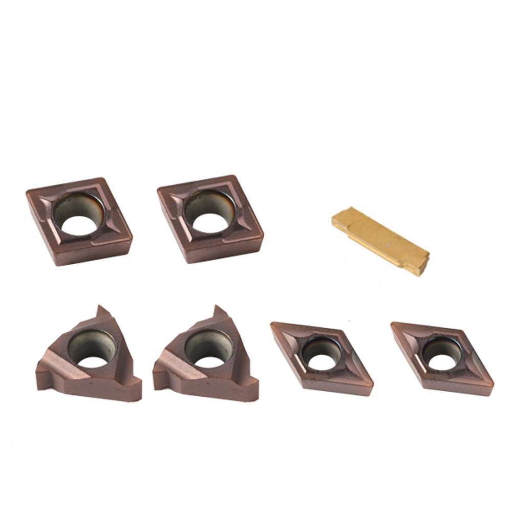 7PCS Multifunctional Solid Carbide Inserts Holder Boring Bar For Lathe Turning Tools Lathe Boring Bar Turning Tool Holder Set