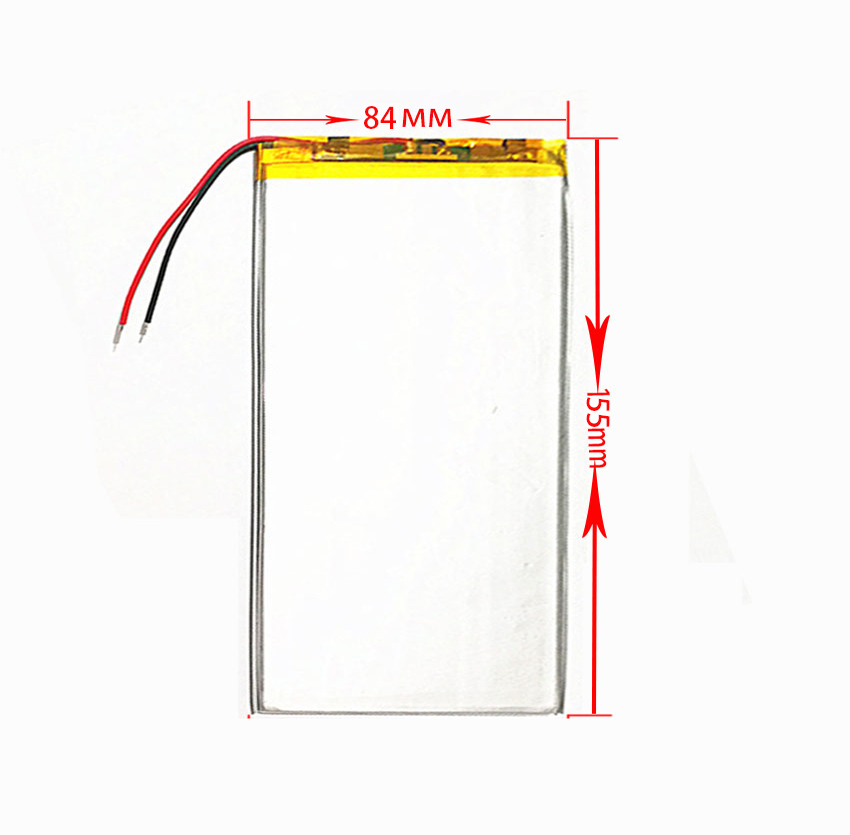 3284155 3.7V 5500mAh Rechargeable Li-Polymer Li-ion Battery For <font><b>DIGMA</b></font> Plane <font><b>1550S</b></font> 3G PS1163MG 1551S 4G PS1164ML 1584S PS1201PG image