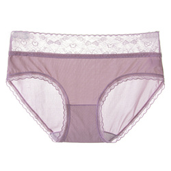 LANGSHA Seamless Women Panties Summer Traceless Thin Nylon Fashion Girls Underwear Sexy Lace Briefs Cotton Transparent Lingerie