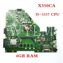 Mainboard X550CA ASUS CPU for X550ca/X550cc/Y581c Laptop 90nb0bt0-r00030/Tested/Free-shipping