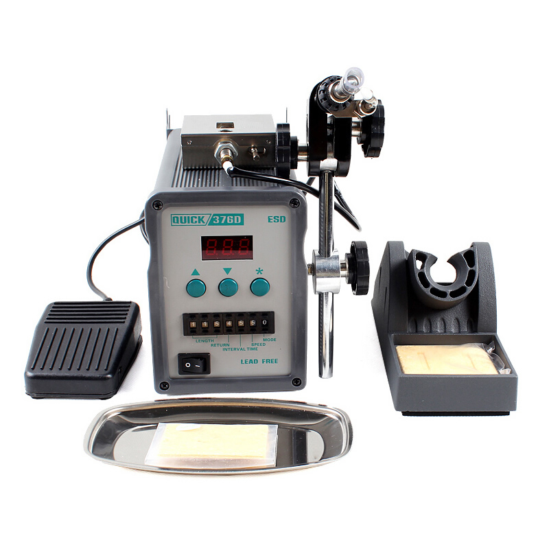 QUICK 376D automatic display of tin solder machine out of tin soldering iron 220V 90W|Electric Soldering Irons| |  - title=