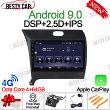 "9 ""IPS Android 9,0 coche Multimedia Player Stereo Radio para Kia CERATO K3 FORTE 2013 14 15 16 GPS Nav la unidad DSP Bluetooth WIFI(China)"