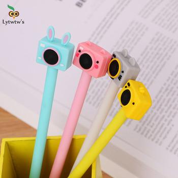 1 sztuka Lytwtw #8217 s śliczne kreatywny atrament żelowy długopisy koreański aparat Kawaii materiały biurowe biuro szkolne prezenty dla dzieci długopis żelowy tanie i dobre opinie Lytwtw s CN (pochodzenie) Żelowy wkład Biuro i szkoła pen 0 38mm Normalne P898 Z tworzywa sztucznego