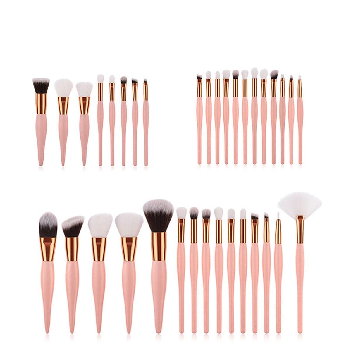 15/12/8Pcs Eye Brush Makeup Brush Set Eye Shadow Lip Eyebrow Brushes High Quality Professional Lip Eyeliner Tools Makeup Brushes