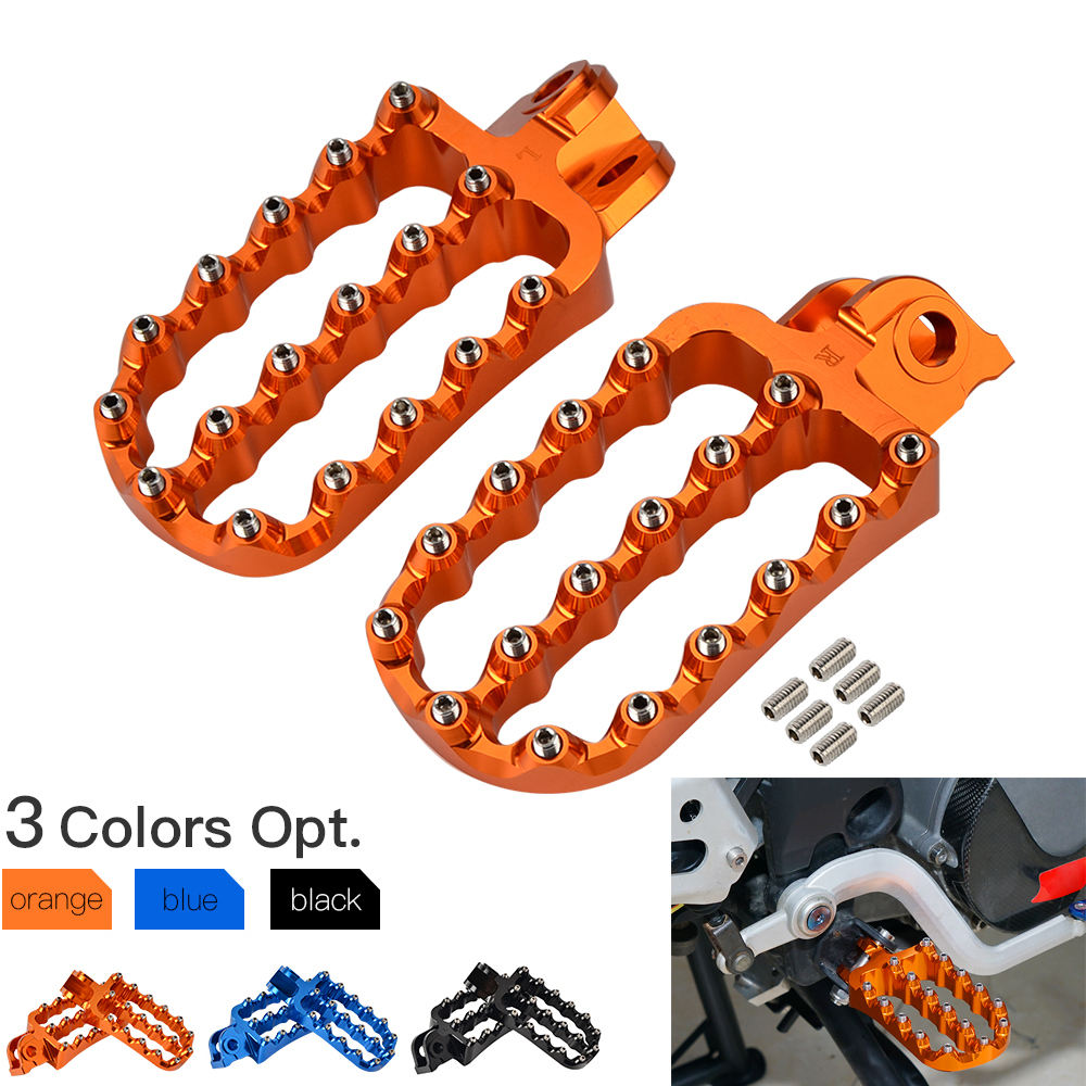 For KTM 690 790 950 990 1090 1190 1290 Adventure Supermoto Super ADV R T Enduro SMC SMR Foot Pegs FootRest Footpegs Rests Pedals