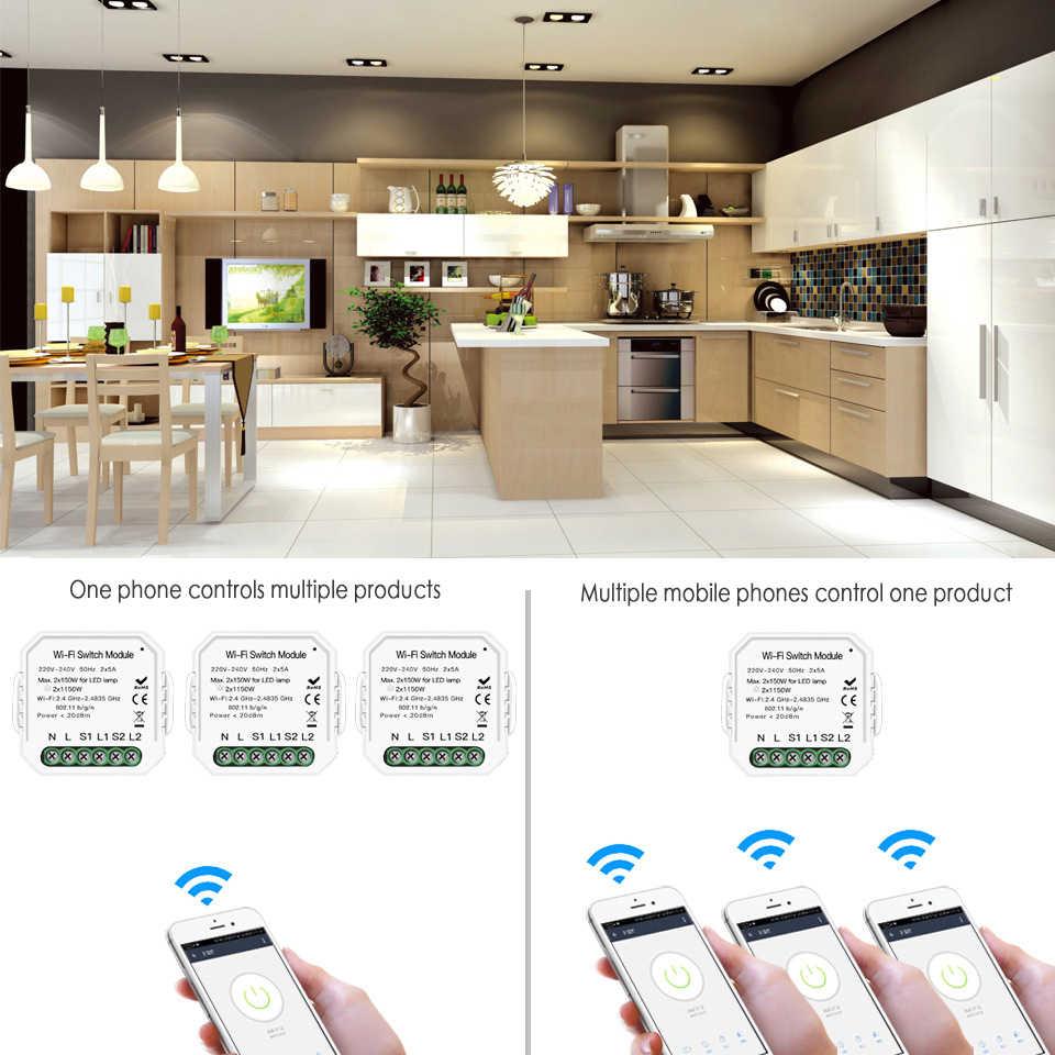 Mới 2 Gang 2 Cách Nhà Thông Minh Ánh Sáng Phát Wifi Tự Ngắt Mô Đun Cuộc Sống Thông Minh Tuya Ứng Dụng Điều Khiển Từ Xa Công Việc với Alexa Google Home