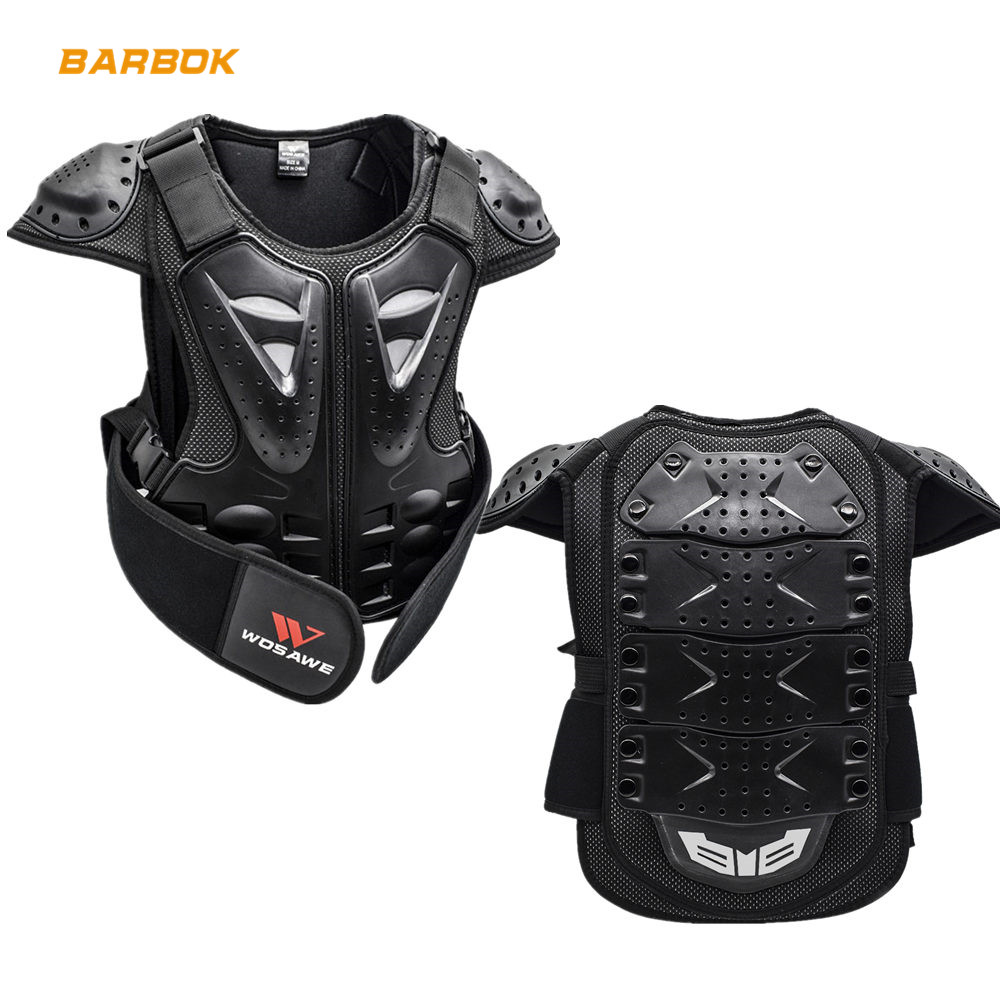 Enfants Body Armour Body Gear Armour Motorcycle Motorcross Bikes Guard CE Approved Jacket 12 ans