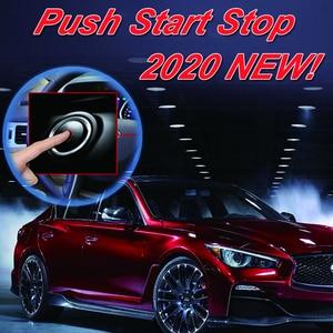 Image 3 - Cardot Pke Passive Keyless Entry System Remote Start Push Start Stop Button Auto Remote Car Alarm
