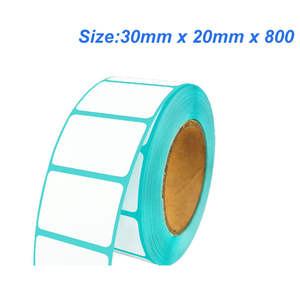 Thermal-Label-Paper for 30mm-X-20mm-X-800 High-Quality