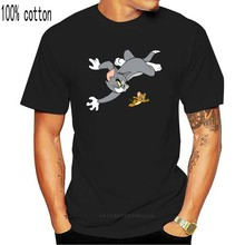 Футболка мужская забавная футболка Tom & Jerry 2 графическая футболка