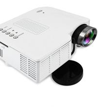 UC28+  400 Lumens HD 400Lumens Multimedia LED Homehold Projector Support 60 Inch Large Screen Projection