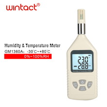 Thermo hygro meter Digital Psychrometer Thermometer Hygrometer Humidity Monitor with Temperature Humidity Meter with Dew Point benetech digital lcd display thermo hygrometer gm1361 2 5 inch separate temperature and humidity meter without box