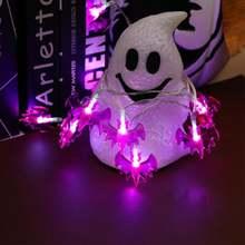 Glorystar Хэллоуин Гирлянда 3d фонарь летучая мышь огни 2 м
