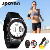 10 Styles SPOVAN 70g Ultra Thin Sport Business Watch for Men Women Genuine Leather Silicone Watchband, Beyond Free Strap Gift