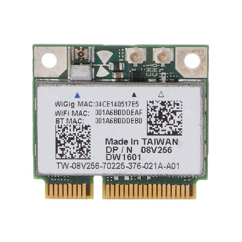 DW1601 QCA9005 Wireless Card 8V256 WiGig 802.11AD 7Gbps Wireless Bluetooth 4.0 Mini Pcie Card