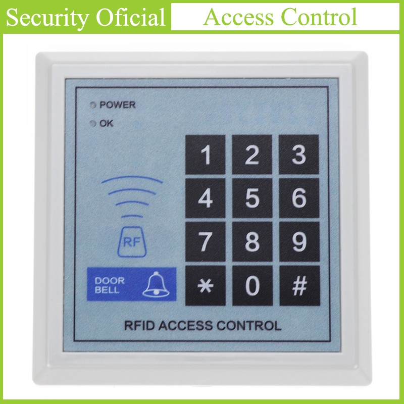 Access Control Keypad RFID Key Card Controller Automatic Door Card Reader Access Control Digital Password Keyboard Door Lock New