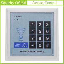Klawiatura kontroli dostępu karty klucza RFID kontroler automatyczne drzwi czytnik kart kontroli dostępu cyfrowy klawiatura hasło blokady drzwi nowy tanie tanio AC01