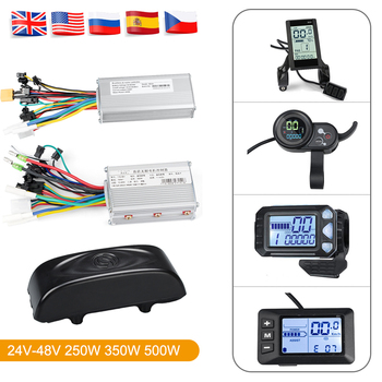 Ebike Controller Display 24V/36V /48V 350W 500W Electric Bike Display Brushless Controller for Electric Bicycle Conversion Kits ebike 72v brushless motor controller bike 45a 18mosfet with regenerative function for electric bicycle