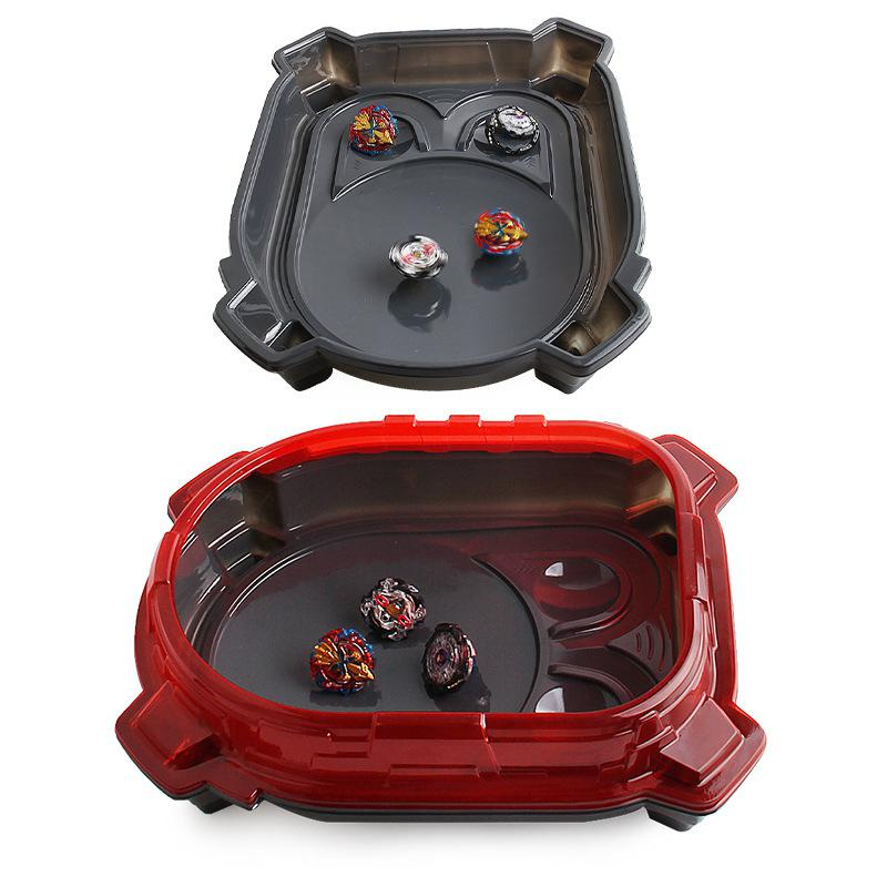 Kuulee Red Beyblade Stadium Arena Plate Battle Station With Blister Hood For Gyro
