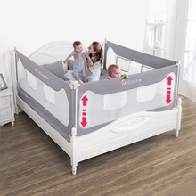Bed-Fence Guardrail Baby Crib Bedside Foldable Anti-Suffocation Children's