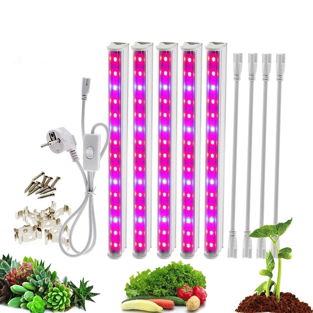 Led Grow Light Full Spectrum  Grow Lighting T5 LED Phyto Lamps Grow LED Lamp  Light Hydroponic Plant Growth Light Plant Light
