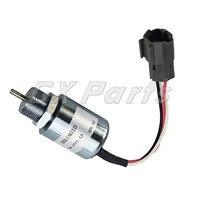 SA 3725 12 1751ES Stop Solenoid for Mitsubishi Volvo EC13 EC15 EC15B 12V|Valves & Parts| |  -