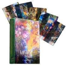 Saggezza mistica tarocchi Del Fuego gioco di carte mazzo oracolo giocattolo decantazione stella mistero equitazione guida elettronica predire il cervello