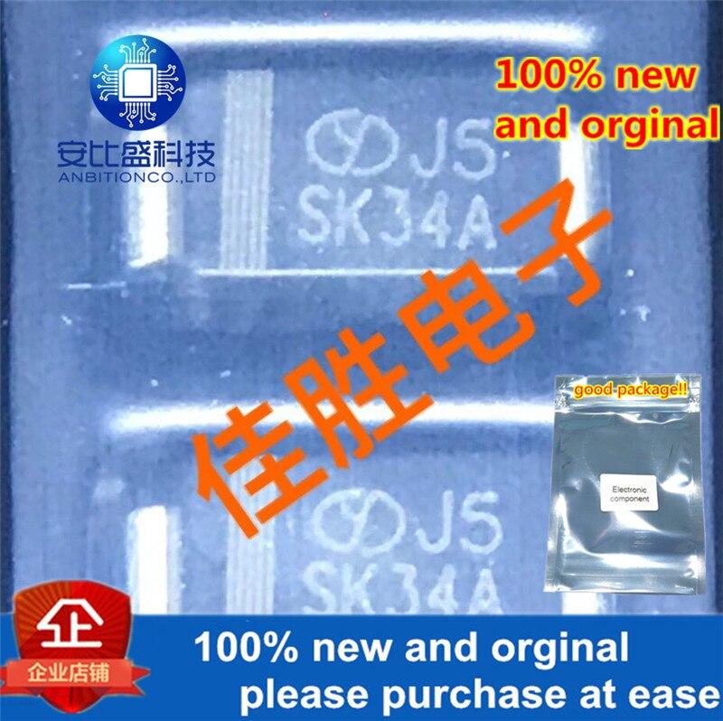 50pcs 100% New And Orginal 3A40V DO214AC Silk-screen SK34A In Stock