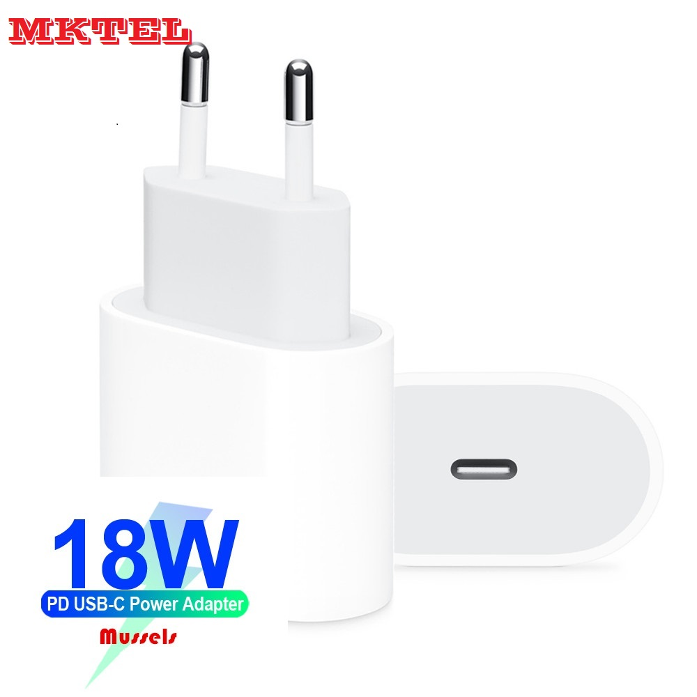 Fast Charger 18W USB C Power Adapter TYPE-C TO Lightn 8pin Cable PD 2.0 Charger For IPhone 11 Pro Max/11