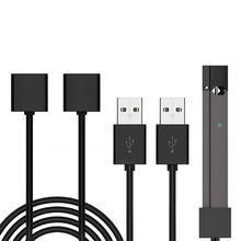 2021 New 80CM Length USB Charging Cable Wire Charger Cord for Juu-l Accessories Kit with Magnetic Adsorption Design