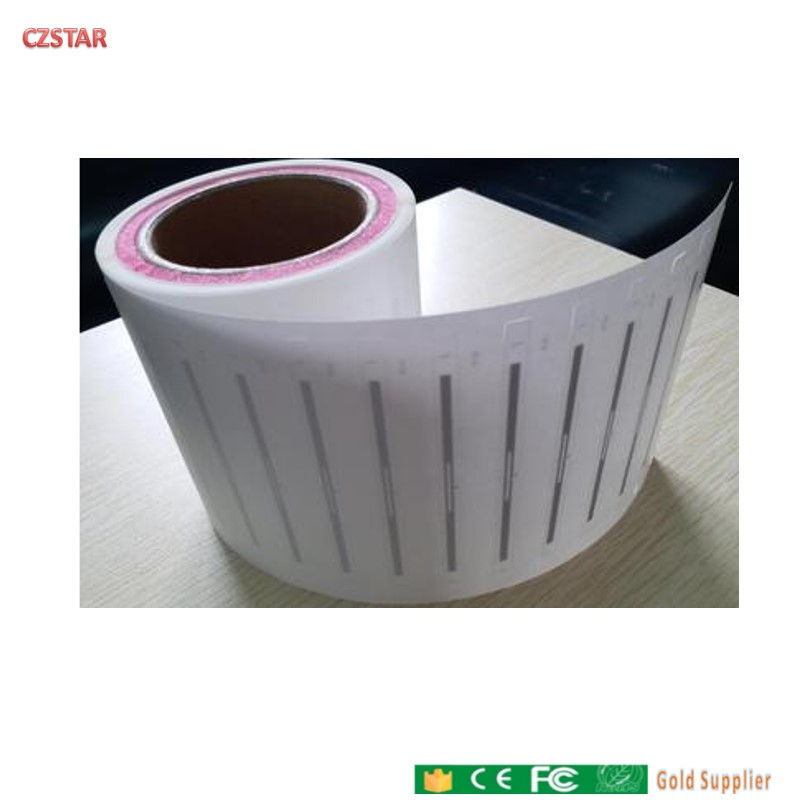 RFID Tags UHF 6C Sticker 915MHZ Library Label Passive RFID Wet Inlay Book Tag Self Adhesive UHF RFID Sticker 840-960mhz