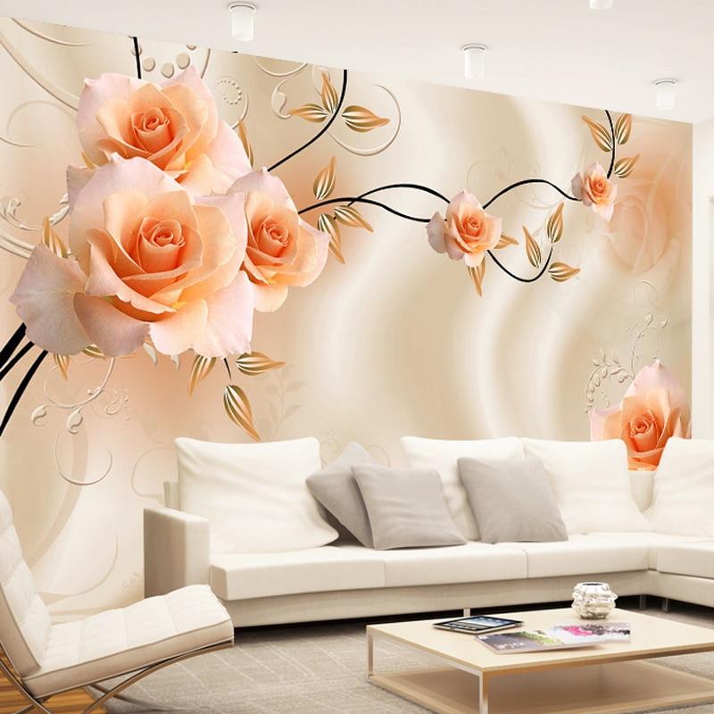 Custom Size Silk Cloth Flowers Photo