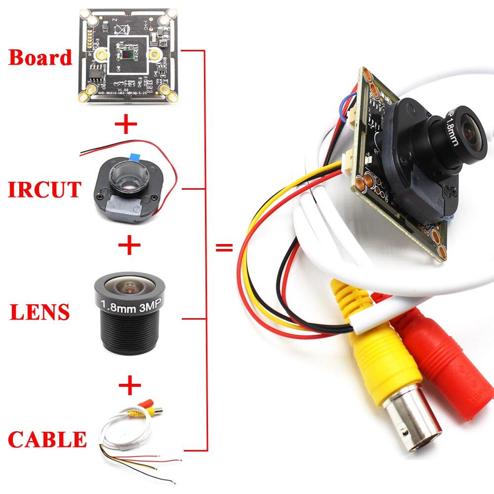 AHWVSE HD 2MP 2.8mm 6mm AHD Camera Ultra Low Illumination 1080P 3000TVL CMOS Security Video HD Analog CCTV Camera For AHD DVR