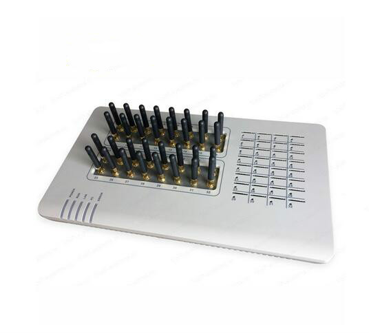 32 sim GSM VoIP Gateway GoIP Gateway, SMS di Massa, 32 Chip, GOIP32, il Gateway GSM, asterisk elastix 32 Canali GSM, router