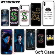 WEBBEDEPP 65N Riverdale Jughead Jones Soft Phone Case for iPhone XR XS 11Pro Max 7 8 6S Plus 5S SE 8Plus 7Plus 11 Pro Cases