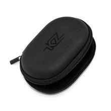 Earphone-Bag Usb-Cable Earbuds Protective Hard-Zipper Mini KZ Organizer