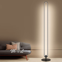 Современный минималистичный торшер, металлический СВЕТОДИОДНЫЙ торшер для гостиной, спальни, стоячий светильник, настольная лампа, стоячий напольный светильник с регулируемой яркостью