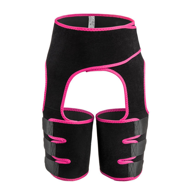 Waist Support Neoprene Slim Thigh Trimmer Leg Shapers Slimming Belt Waist Trainer Sweat Shapewear Fat Burning Compress Belt 2