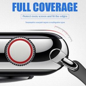 Image 5 - 20D מעוקל מלא כיסוי מזג זכוכית עבור Apple שעון 1 2 3 4 מסך מגן עבור Iwatch 38 40 42 44mm מגן זכוכית סרט