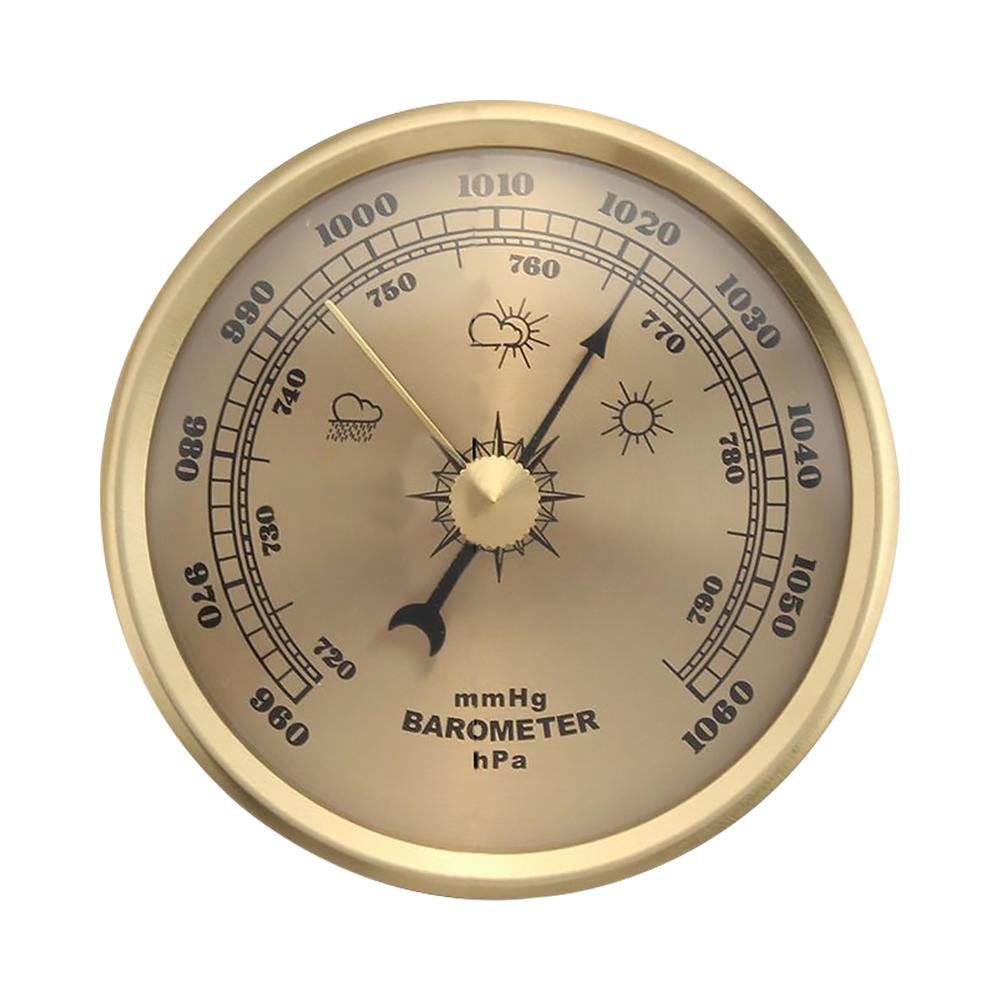 Air Pressure Gauge For Ships Factories Laboratories Families Wall Mounted Home Thermometer Hygrometer Weather Barometer Tools