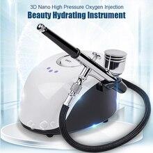 Sprayer-Machine Nano Face Care-Tool Nebulizer Facial-Steamer Filling-Meter Beauty-Device