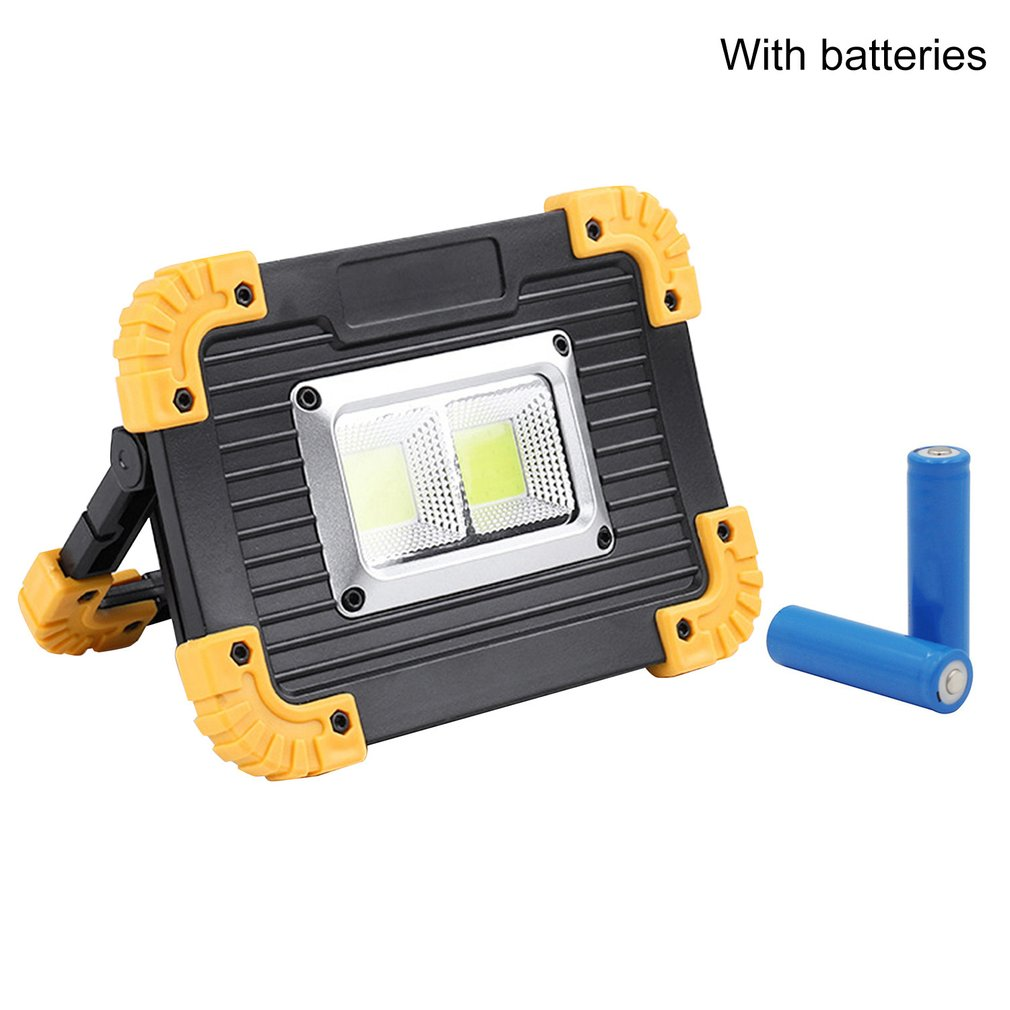 LED Portable Spotlight LED Work Light For Hunting Camping LED Flashlight Outdoor Light Rechargeable 18650 Battery LL-812