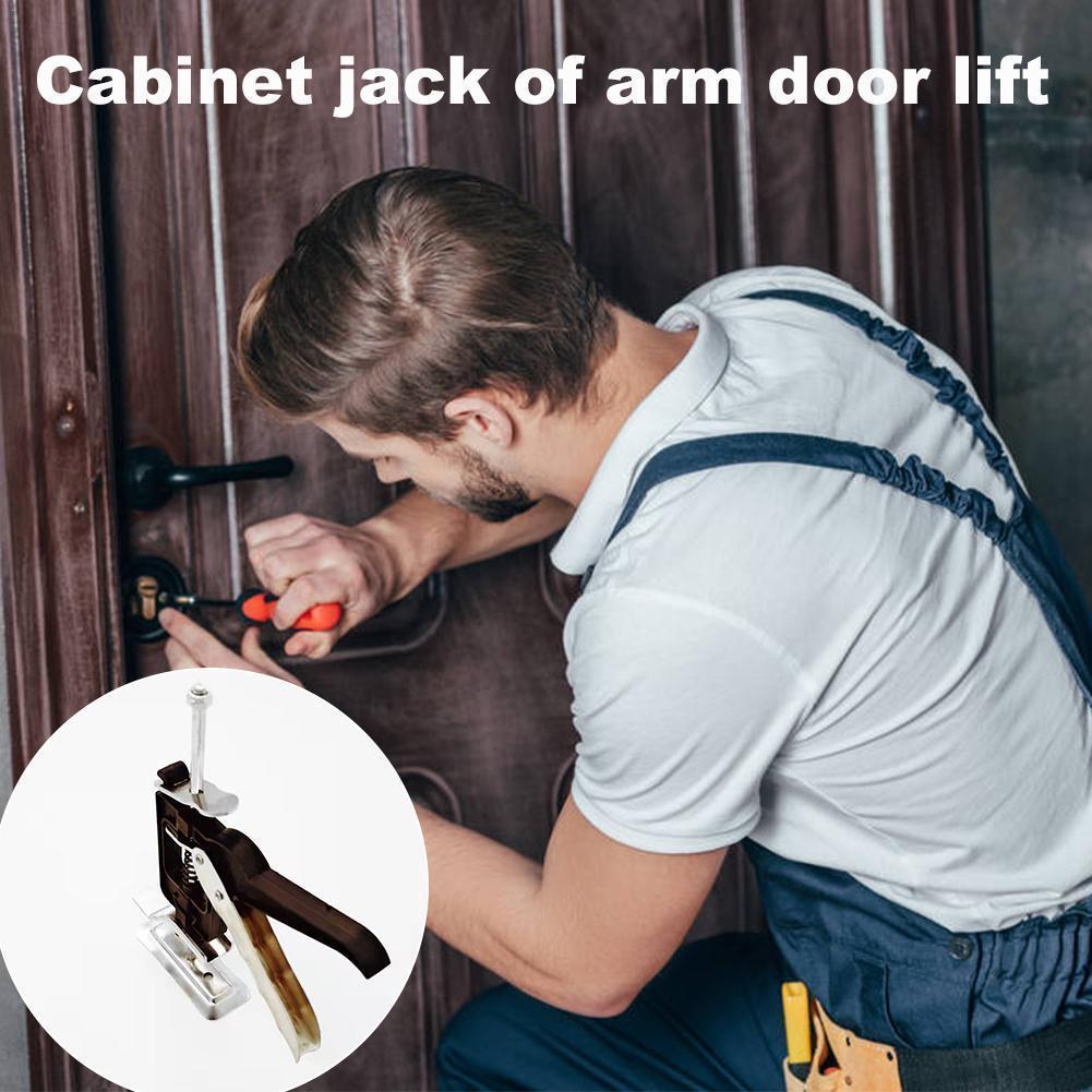 Labor-saving Arm Door Use Board Lifter Cabinet Jack Multifunctional Plaster Sheet Repair Anti Slip Hand Tools Moving Furniture